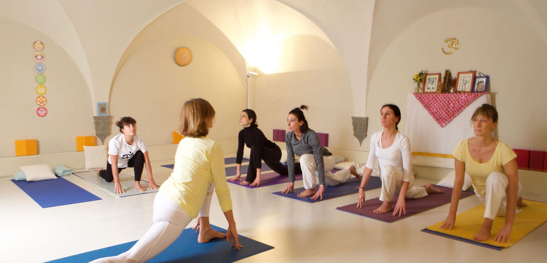 Corsi di yoga a Firenze