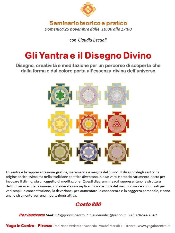 Gli Yantra e il Disegno Divino