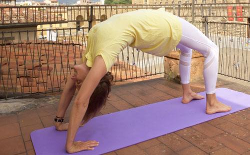 Posizioni istruzioni Yoga