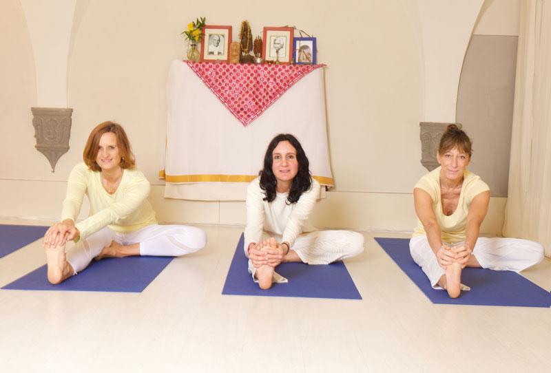 Fotografie sullo Yoga