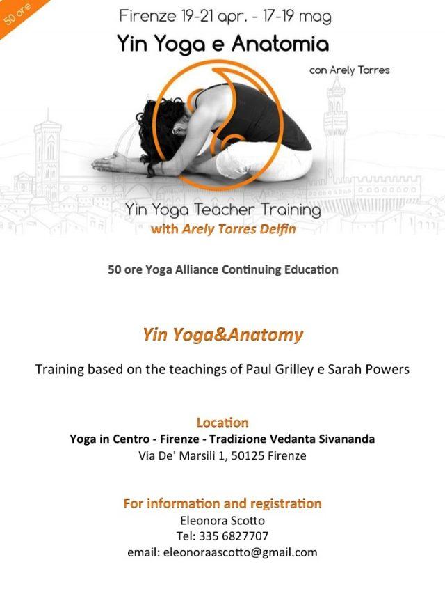 Yin Yoga & Anatomy