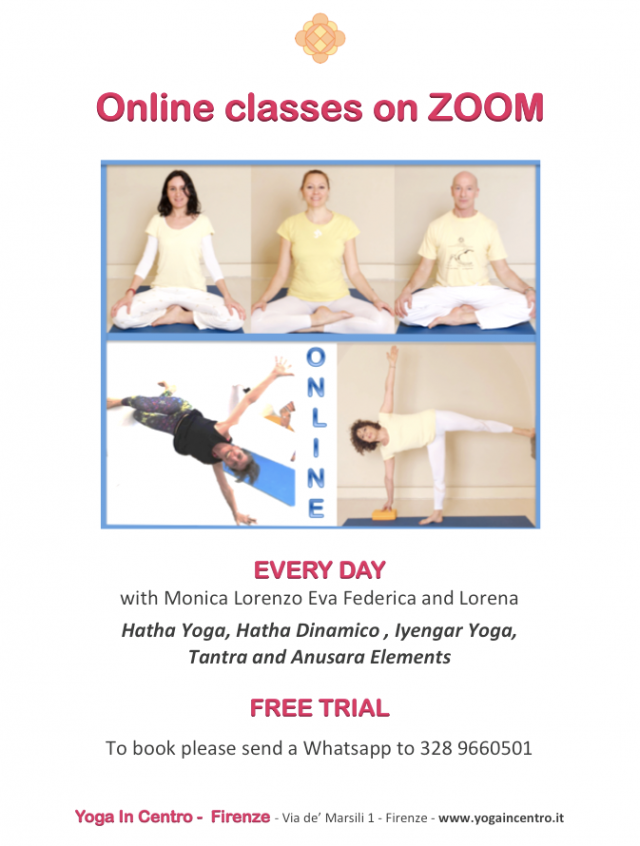 Online classes – every day